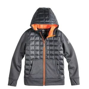 Zeroxposur Big boys snug hybrid jacket